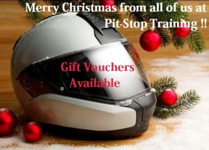 Merry Christmas from Pit-Stop Training. Gift Vouchers are available here